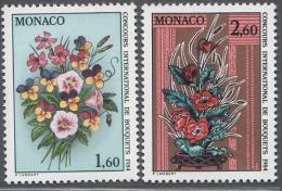 MONACO 1983 - SERIE N° 1398 Et 1399 - 2 TP NEUFS** - Unused Stamps
