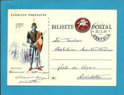 MÉRTOLA - VALE De AÇOR - 1964 - EXÉRCITO PORTUGUÊS - N.º 6 - INTEIRO POSTAL STATIONERY - PORTUGAL - Enteros Postales