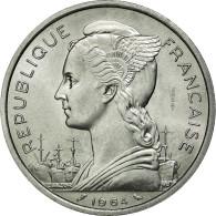 Monnaie, Comoros, 5 Francs, 1964, Paris, FDC, Aluminium, Lecompte:36 - Comores