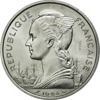 Monnaie, Comoros, 5 Francs, 1964, Paris, FDC, Aluminium, Lecompte:36 - Comoros