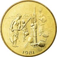 Monnaie, West African States, 10 Francs, 1981, FDC, Laiton, KM:E12 - Monnaies