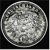 Fehlprägung? Medaille 999/1000 Silber - 1993 / 1998 ? Gründung Des DGB - 50 Jahre Deutschland - Non Classificati