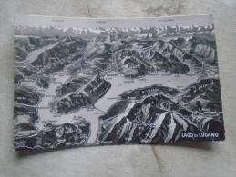 CH - Ticino -Lago Di Lugano - Porlezza Brusino Caslano - Gandria Melide Campione  D136441 - TI Ticino
