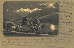 Beatenberg Die Kirche Im Mondschein - Edition D.R.G.M. - Carte Précurseur N°85081 - BE Berne