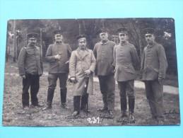 Soldaat - Soldier / Soldat () Identify ( Zie Namen Op Foto ) Anno 1916 MINDEN ( Paul Beckman Zie Foto´s Voor Details ) ! - Guerra, Militares