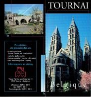 Ancien Dépliant Sur La Ville De Tournai (vers 1998) - Dépliants Touristiques