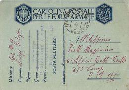 FRANCHIGIA WWII POSTA MILITARE 200 1941 SARAJEVO CROAZIA X PM 111 LANSLEBOURG FR - 1900-44 Vittorio Emanuele III