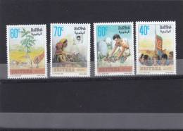 Stamps ERITREA 1996 SC 263-266 MARTYRS  DAY MNH SET ER#7 LOOK - Eritrea