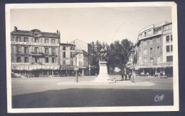 DROME 26 VALENCE Place De La Gare Et Statue De Bancel - Valence