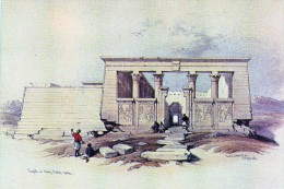 Egypte  Temple  Of Wady Dabod Nubia - Egypt