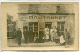 BOULLARRE(OISE) MAGASIN (CARTE PHOTO) - France