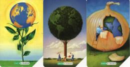 *ITALIA: INFOSTRADA - MONDO* - Serie Completa Usata - Cartes GSM Prépayées & Recharges
