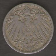 GERMANIA 10 PFENNIG 1901 - 10 Pfennig