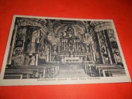 A2213 Castellamonte Spineto Interno Chiesa Cm9x14 Viaggiata - Italia