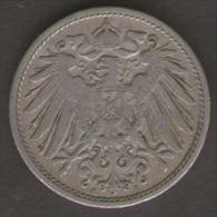 GERMANIA 10 PFENNIG 1899 - [ 2] 1871-1918 : Impero Tedesco