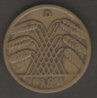 GERMANIA 10 RENTENPFENNIG 1924 - [ 3] 1918-1933 : Repubblica Di Weimar