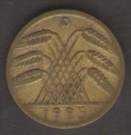 GERMANIA 10 RENTENPFENNIG 1925 - [ 3] 1918-1933 : Repubblica Di Weimar