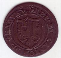 - SUISSE - Canton De Genève. 1 Sol 1819 - - Svizzera