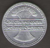 GERMANIA 50 REICHSPFENNIG 1922 - [ 3] 1918-1933 : Repubblica Di Weimar