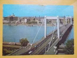 28247 - BUDAPEST, PONT, MOST, CHAIN BRIDGE, AUTO, SHIP, BUS - Ungheria