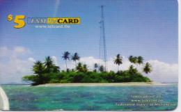 MICRONESIA PHONECARDS   5$-USED(bx1)