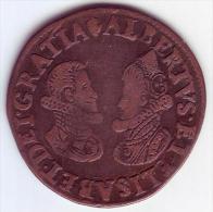 - BELGIQUE - PAYS BAS ESPAGNOLS. Duché De Brabant. Jeton Albert Et Isabelle 1608 - - Royaux / De Noblesse