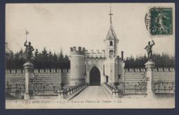 L'ile Bouchard Entrée Du Chateau Du Temple - L'Île-Bouchard