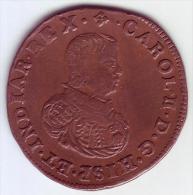 - BELGIQUE - PAYS BAS ESPAGNOLS. Charles II. Jeton Du Bureau Des Finances 1670  - - Royaux / De Noblesse