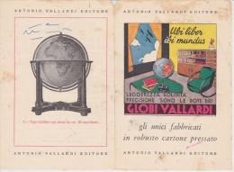 ANTICA PUBBLICITA' ADVERTISING GLOBI VALLARDI EDITORE MAPPAMONDI - Publicités