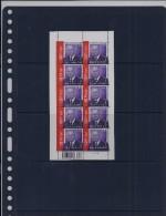 Belgie - Belgique 3501 Velletje Van 10 Postfris - Feuillet De 10 Timbres Neufs  -  Koning Albert II - 0,83 - Feuilles Complètes