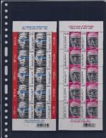 Belgie - Belgique 3476/77 Velletje Van 10 Postfris - Feuillet De 10 Timbres Neufs  -  Literatuur - Feuilles Complètes