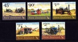 New Zealand 2004 Historic Farm Equipment Set Of 5 MNH - Neufs