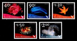Ross Dependency 2003 Marine Life Set Of 5 MNH - Ross Dependency (New Zealand)