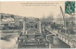 BAR SUR AUBE - Crue De L'Aube - Lançage Du Pont Eiffel - Bar-sur-Aube