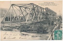 BAR SUR AUBE - Crue De L´Aube - Le Pont Eiffel Avant Son Lancement - Bar-sur-Aube