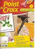Petits Livres De Modeles A Faire Au Point De Croix Compté - Vendu A L Unité A 1,OOeuros - Point De Croix