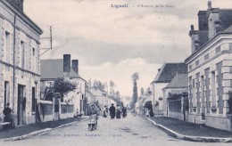 Ligueil - L'avenue De La Gare - Francia
