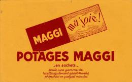 "Maggi  "" Ma Joie ""  (potages ) - Format  21 X 13.5 Cm - Alimentaire"