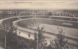 CPA 51 Reims - College D´athletes - Vue Du Stade , Pris De La Terrasse Du Gymnase Couvert - Reims