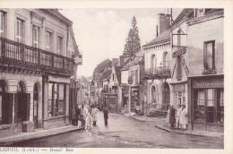 Ligueil - Grand'Rue - Francia