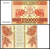 Georgia - 250000 Coupons 1994 UNC - Georgië