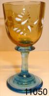 Réf 2c7 - Petit Verre émaillé Georges Sand - Glass & Crystal