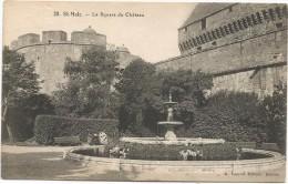 I3678 Saint Malo - Le Square Du Chateau - Castello Castle Schloss Castillo / Non Viaggiata - Saint Malo