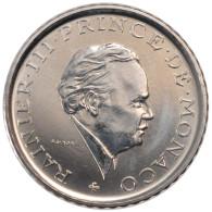 Monaco, Rainier III, 2 Francs - Monaco