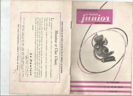 Carnet Technique , F.M.L. , Levallois , LE SUPER MOTEUR JUNIOR  SERVOMATIC ,  19 Pages , 4 Scans , Frais Fr : 1.95€ - Vieux Papiers