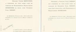 FAIRE PART DE MARIAGE 1935 à EGLISE CATHEDRALE DU PUY EN VELAY (HAUTE LOIRE) - Boda
