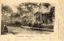 ARCACHON - GIRONDE  -  (33)  -  PEU COURANTE CPA PRECURSEUR DE 1901. - Arcachon