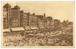 OSTENDE: Vue Générale De La Plage / OOSTENDE: Algemeen Zight Van Het Strand.Collection Thill. - Belgique