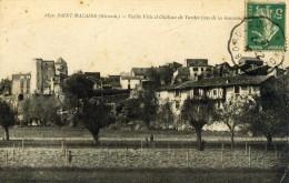 SAINT MACAIRE - GIRONDE  -  (33)  -   CPA  DE 1916. - France