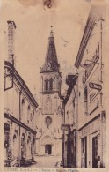 Ligueil - L´Eglise Et Rue De L´Eglise - Francia